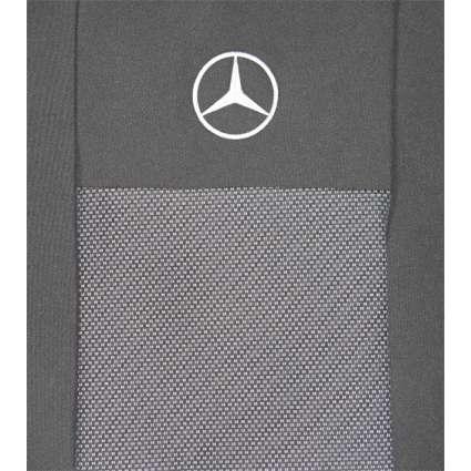 KSUSTYLE Чехлы в салон модельные для  Mercedes-Benz Vito W639 '03- (1+2)