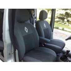 Чехлы в салон модельные для Renault Kangoo I '98-08 (1+1) бюджет (комплект)