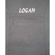 KSUSTYLE Чехлы в салон модельные для  RENAULT Logan MCV '13- (5 мест)