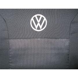 Чехлы в салон модельные для Volkswagen Polo V '09- [седан/цельный] стандарт (комплект)