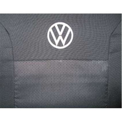 Чехлы в салон модельные для Volkswagen Caddy III '04-15 стандарт (комплект)