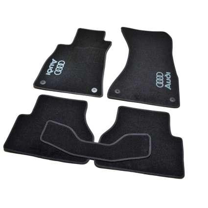 AVTM Коврики в салон текстильные Audi A4 B9 '15- Черные (Комплект 5шт.)