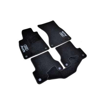 AVTM Коврики в салон текстильные Audi A7 I '10-17 Черные (Комплект 5шт.)