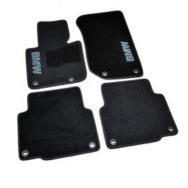 AVTM Коврики в салон текстильные BMW 3 (E36) '90-00 Черные (Комплект 5шт.)