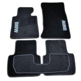 AVTM Коврики в салон текстильные BMW 3 (E46) '98-06 Черные (Комплект 5шт.)