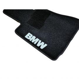 AVTM Коврики в салон текстильные BMW 7 (E65/E66) '01-08 Черные (Комплект 5шт.)