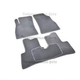 AVTM Коврики в салон текстильные Skoda Superb II '08- Черные Premium (Комплект 5шт.)