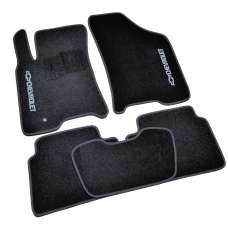 AVTM Коврики в салон текстильные Chevrolet Lacetti '02- Черные (Комплект 5шт.)