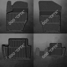 SRTK Коврики в салон глубокие Citroёn C4 I '04-10  (Комплект 4шт.)