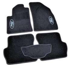 AVTM Коврики в салон текстильные Ford Fiesta VI '02-08 Черные (Комплект 5шт.)