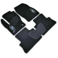 AVTM Коврики в салон текстильные Ford Kuga II '13- Черные (Комплект 5шт.)
