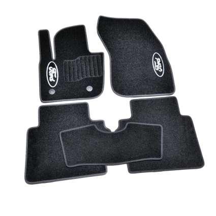 AVTM Коврики в салон текстильные Ford Mondeo V '14- Черные (Комплект 5шт.)