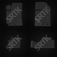 SRTK Коврики в салон глубокие Geely Emgrand EC7 '09- (Комплект 4шт.)