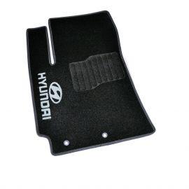 AVTM Коврики в салон текстильные Hyundai Accent V '17- Черные (Комплект 5шт.)