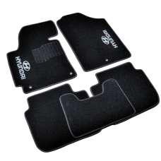 AVTM Коврики в салон текстильные Hyundai Elantra (MD) V '10- Черные (Комплект 5шт.)