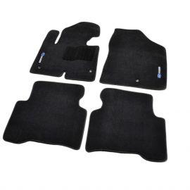 AVTM Коврики в салон текстильные Hyundai Santa Fe III '12- Черные Premium (Комплект 5шт.)