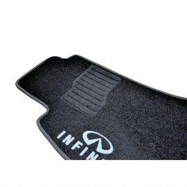 AVTM Коврики в салон текстильные Infiniti FX35 I (S50) '03-08 Черные (Комплект 3шт.)