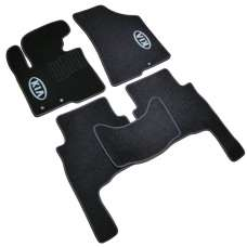 AVTM Коврики в салон текстильные Kia Sorento II '09-12 Черные (Комплект 5шт.)