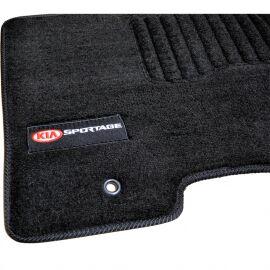 AVTM Коврики в салон текстильные Kia Sportage (QL) '15- Черные Premium (Комплект 5шт.)