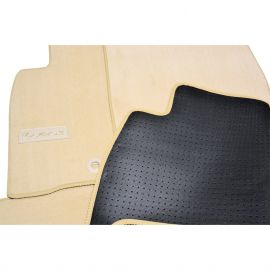 AVTM Коврики в салон текстильные Lexus LX 570 '12- Бежевые Premium (Комплект 3шт.)