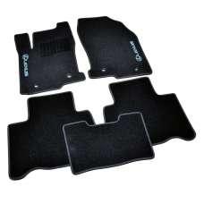 AVTM Коврики в салон текстильные Lexus NX '14- Черные (Комплект 5шт.)