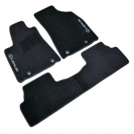 AVTM Коврики в салон текстильные Lexus RX III '09-15 Черные (Комплект 3шт.)