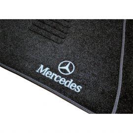 AVTM Коврики в салон текстильные Mercedes-Benz E-Class W124 '84-97 Черные (Комплект 5шт.)