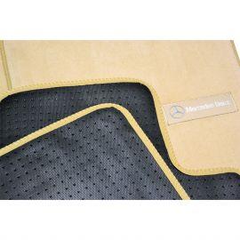AVTM Коврики в салон текстильные Mercedes-Benz ML-Class W164 '05-11 Бежевые Premium (Комплект 5шт.)