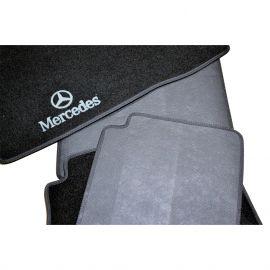 AVTM Коврики в салон текстильные Mercedes-Benz S-Class W220 '98-05 [задний привод] Черные (Комплект 5шт.)