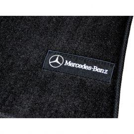 AVTM Коврики в салон текстильные Mercedes-Benz Viano W639 '03-14 Черные Premium (Комплект 3шт.)