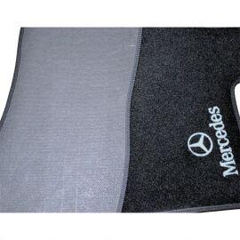 AVTM Коврики в салон текстильные Mercedes-Benz Vito II W639 '03-14 Черные (Комплект 3шт.)