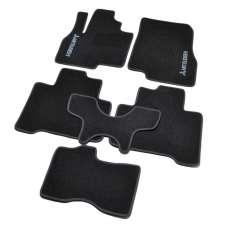 AVTM Коврики в салон текстильные Mitsubishi Grandis '03-11 Черные (Комплект 6шт.)