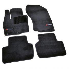 AVTM Коврики в салон текстильные Mitsubishi Outlander III '12- Черные Premium (Комплект 5шт.)