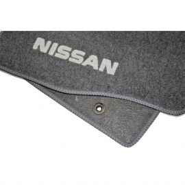 AVTM Коврики в салон текстильные Nissan Juke '10- МКП Серые (Комплект 5шт.)