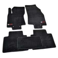 AVTM Коврики в салон текстильные Nissan X-Trail (T32) '14- Черные Premium (Комплект 5шт.)