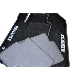 AVTM Коврики в салон текстильные Renault Laguna III '07- Черные (Комплект 5шт.)