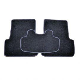 AVTM Коврики в салон текстильные Renault Megane II '02-09 Черные (Комплект 5шт.)