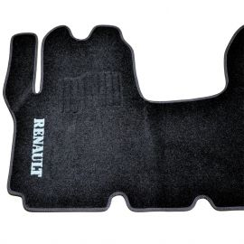 AVTM Коврики в салон текстильные Renault Trafic II '01- [1+2] Черные (Комплект 1шт.)