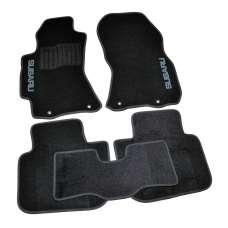 AVTM Коврики в салон текстильные Subaru Legacy V '09- Черные (Комплект 5шт.)
