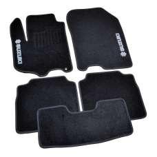 AVTM Коврики в салон текстильные Suzuki SX4 II '13- Черные (Комплект 5шт.)