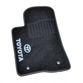 AVTM Коврики в салон текстильные Toyota Avensis (T25) '03-09 Черные (Комплект 5шт.)