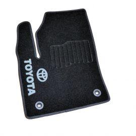 AVTM Коврики в салон текстильные Toyota C-HR '16- Черные (Комплект 5шт.)