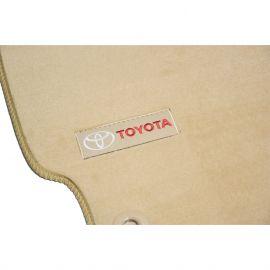 AVTM Коврики в салон текстильные Toyota Camry XV50 '11-17 Бежевые Premium (Комплект 5шт.)