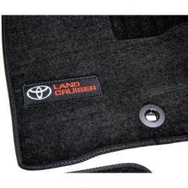 AVTM Коврики в салон текстильные Toyota Land Cruiser 200 '13- Черные Premium (Комплект 3шт.)