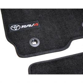 AVTM Коврики в салон текстильные Toyota RAV4 IV '13- Черные Premium (Комплект 5шт.)