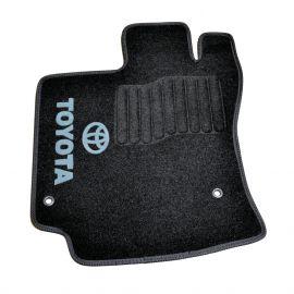 AVTM Коврики в салон текстильные Toyota Venza '08- Черные (Комплект 5шт.)
