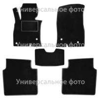 Текстильные коврики в салон Nissan Navara (D40) III '05- (Комплект 5шт.)