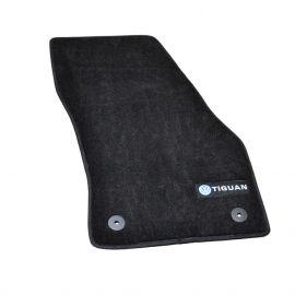 AVTM Коврики в салон текстильные Volkswagen Tiguan II '15- Черные Premium (Комплект 5шт.)