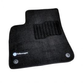 AVTM Коврики в салон текстильные Volkswagen Touareg III '18- Черные Premium (Комплект 5шт.)
