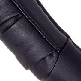 Vitol Оплетка на руль (каркасная) C 080904BK, размер XL, кожзам Черный